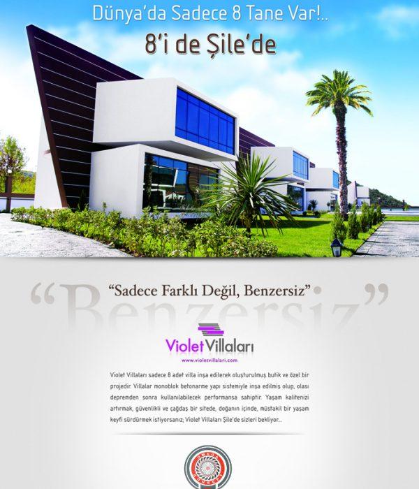Violet Tek Sayfa