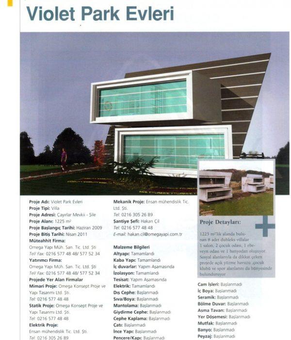 İnşaat-Dünyası-Dergisi-Eylül-2010-Violet-Park-Evleri